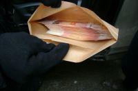 Руководитель фирмы передал чиновнику 20 тысяч рублей