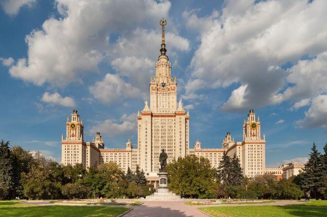 МГУ вошел впятерку наилучших институтов стран БРИКС