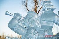Скоро Омск украсят ледяными фигурами.