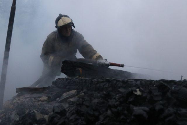 Надороге М-6 «Каспий» сгорел автобус