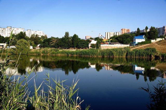 Неменее 100 тонн строительного мусора подняли содня реки Темерник