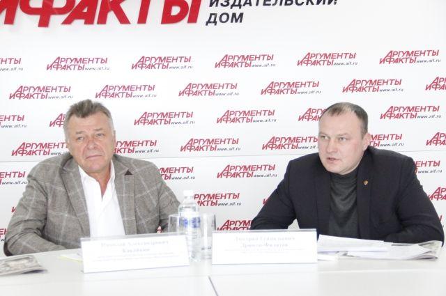 Николай Какайкин и Дмитрий Дрюков-Филатов.