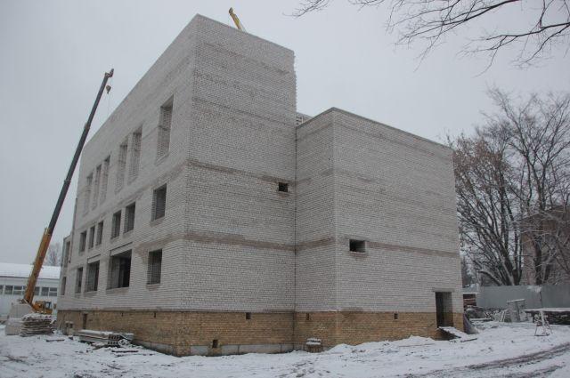 Строительство нового здания школы №43 вЯрославле закончат к предстоящему году