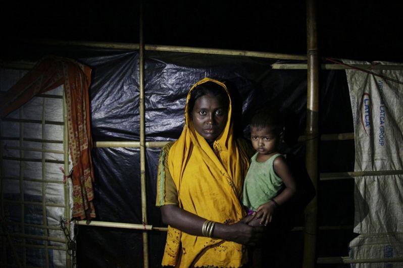 Женщина рохинджа в лагере «Балухали» на границе Мьянмы и Бангладеш.