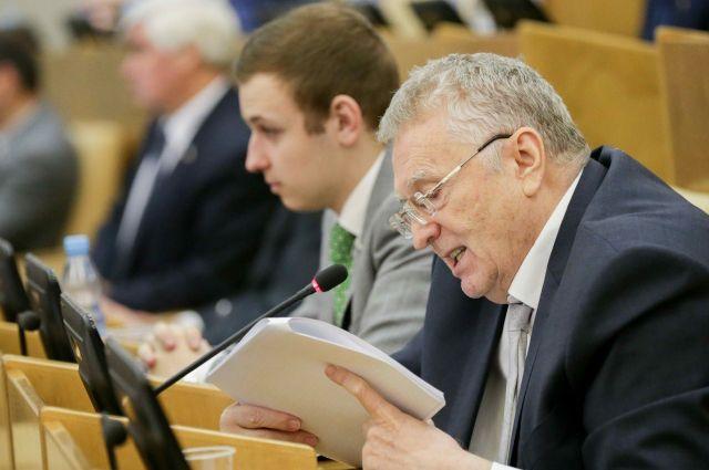 Жириновский объяснил, почему он – лучший кандидат в президенты от ЛДПР
