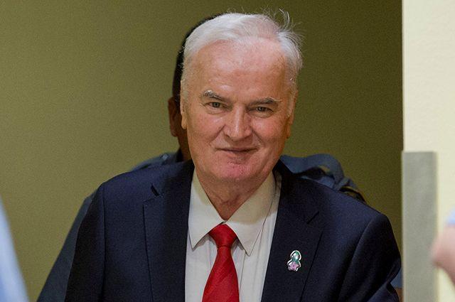 Ратко Младич в суде.
