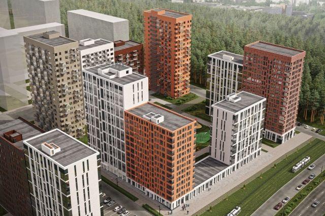 В основу генерального плана комплекса положен принцип замкнутого квартала.