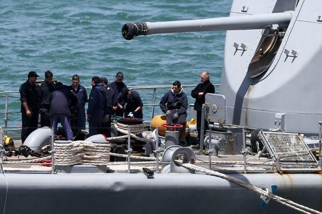В районе исчезновения аргентинской подлодки «Сан-Хуан» раздался взрыв
