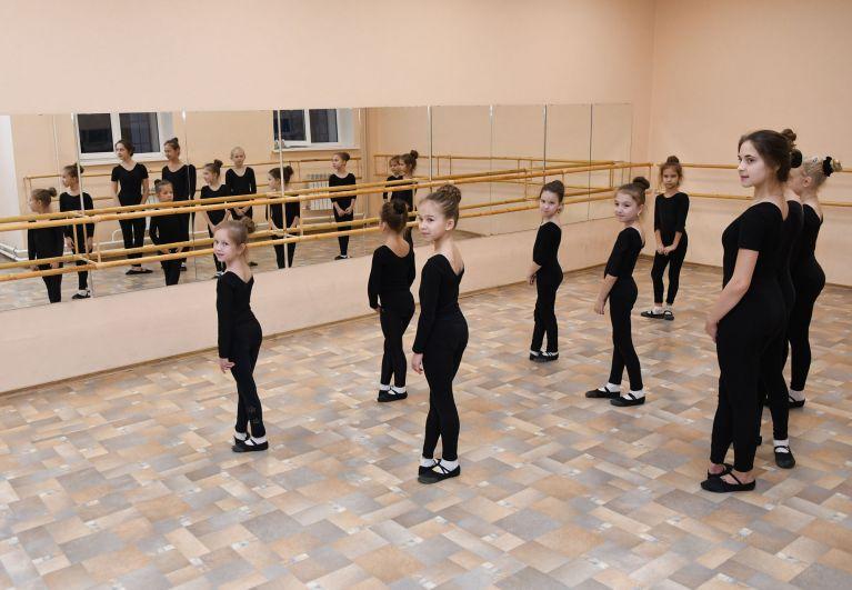 Помимо ритмики откроется секция художественной гимнастики.