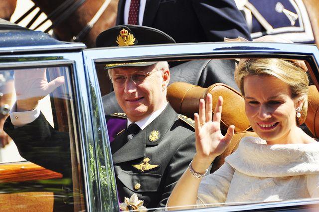 Порошенко поведал , как монарх  Бельгии спал наполу вКиеве