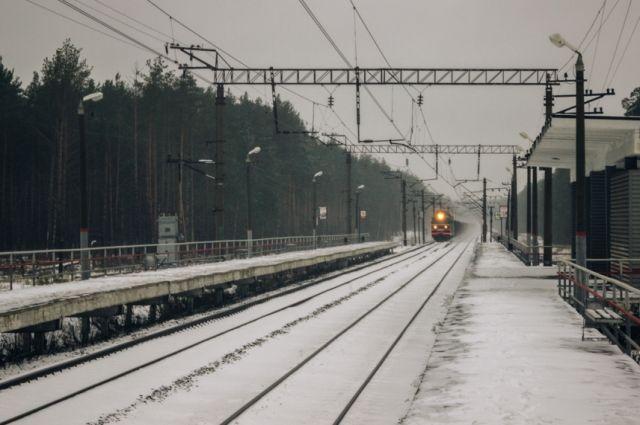 Нажелезнодорожном перегоне вОмске под колёсами поездов погибли мужчина истарушка