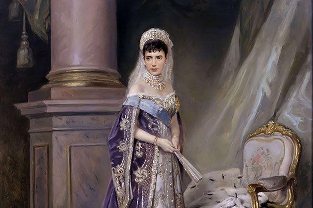 В. Е. Маковский «Портрет императрицы Марии Федоровны». 1912 г.