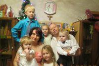 Большая семья- это невероятное счастье.