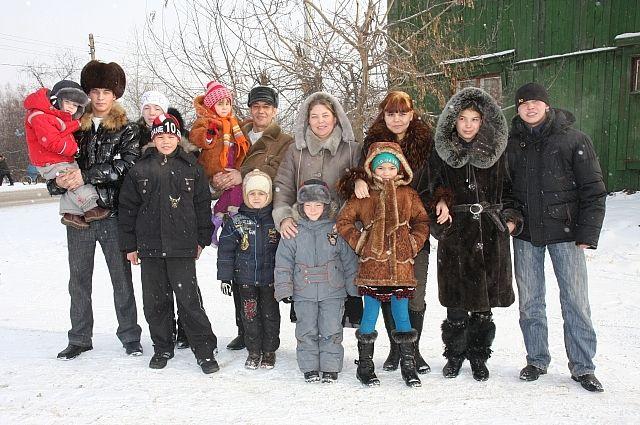 Семья Хамитовых.