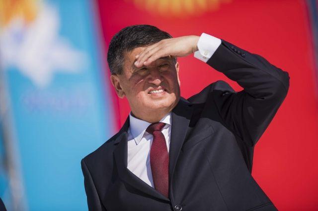 Новый глава Киргизии назвал своим основным приоритетом борьбу с коррупцией