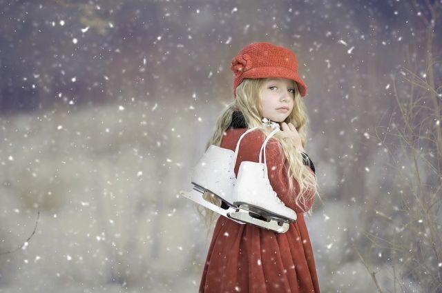 Наступила самая любимая пора для детворы - зима.
