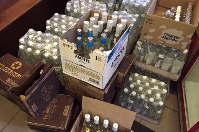 Из магазинов в Зеленоградске изъяли более 300 литров алкоголя.
