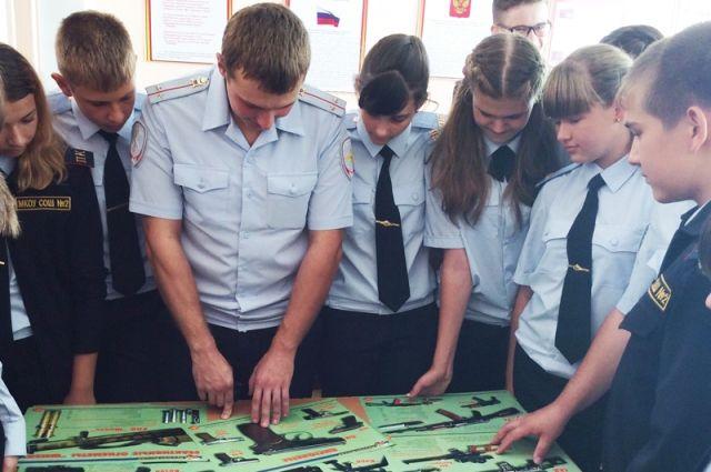 ВОренбурге набазе школы №85 создадут полицейский профильный класс