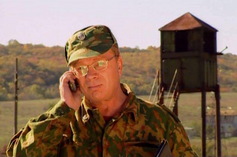 «Спецназ» (2002) — прапорщик Агапцев.
