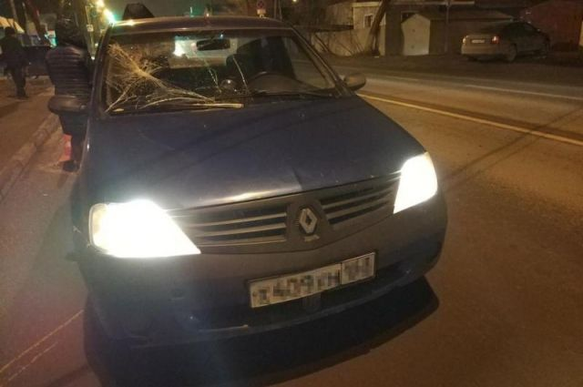 ВСамаре иностранная машина Рено Логан сбила 65-летнего пенсионера