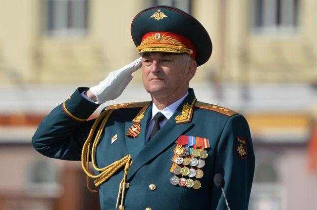 Командующий ЦВО Зарудницкий уходит вГенштаб