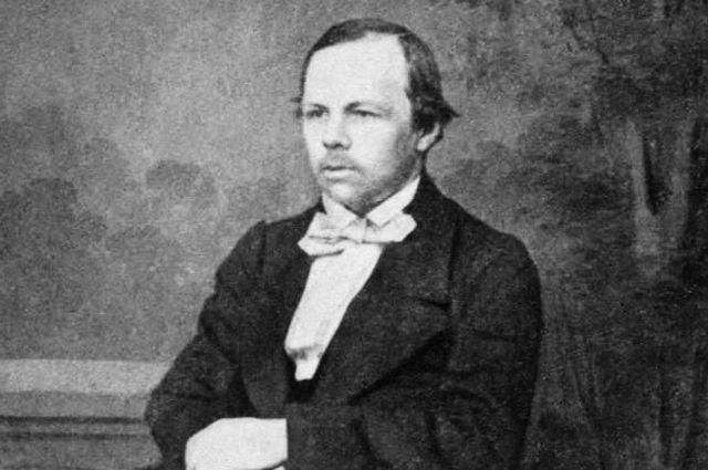 Федор Достоевский. Репродукция фотографии 1863 года.