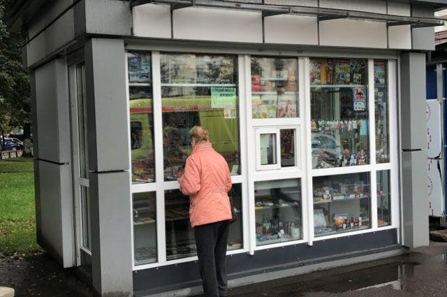 городской департамент отказался внести в схему новые места для киосков и ларьков.