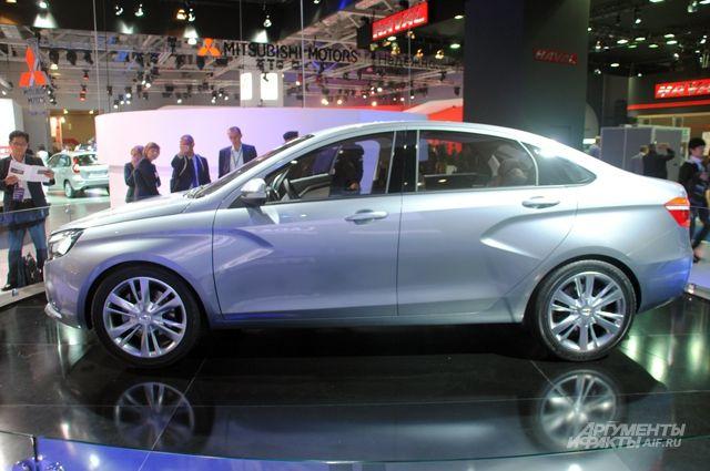 Рынок новых легковых машин в РФ вырос