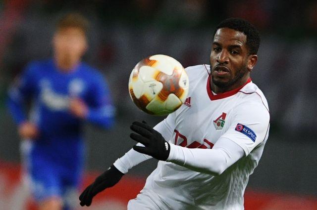 Нападающий «Локомотива» Фарфан признан лучшим игроком недели вЛиге Европы