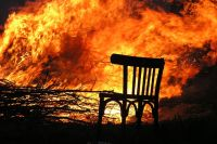 На улице Минской произошел пожар в двухкомнатной квартире