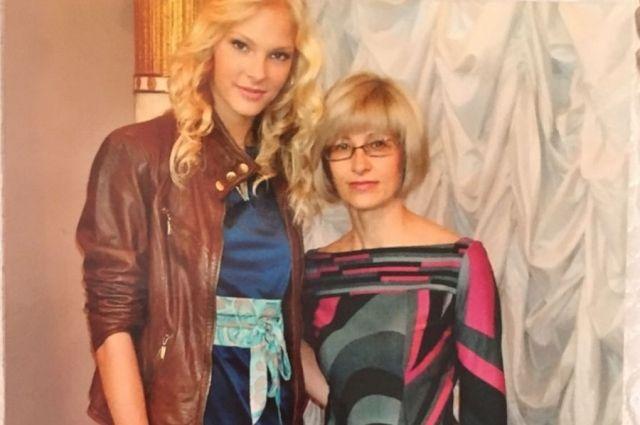 Прыгунья Дарья Клишина с мамой Надеждой.