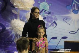 В Оренбурге олимпийская чемпионка Мамун открыла турнир по гимнастике.