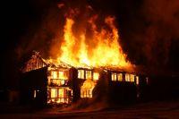 Пожар произошёл ранним утром на улице Делегатской.