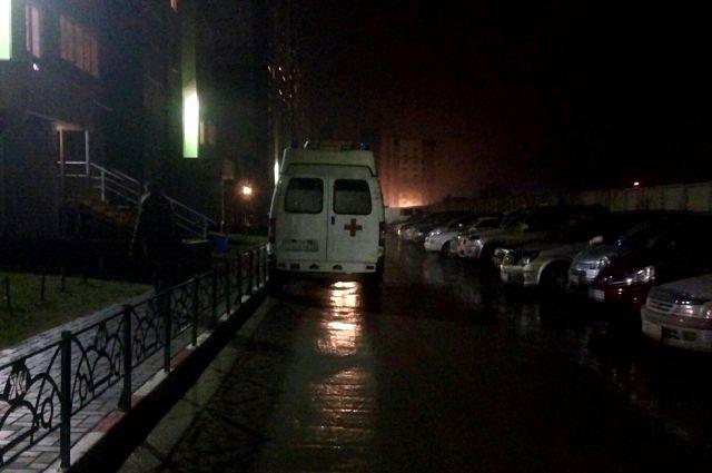 В три часа ночи пострадавшего доставили в больницу.