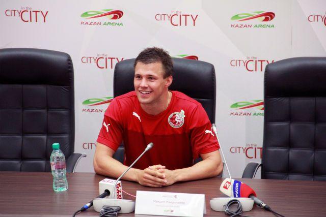 Максим Канунников до перехода в казанский «Рубин» два сезона провёл в составе «Амкара».