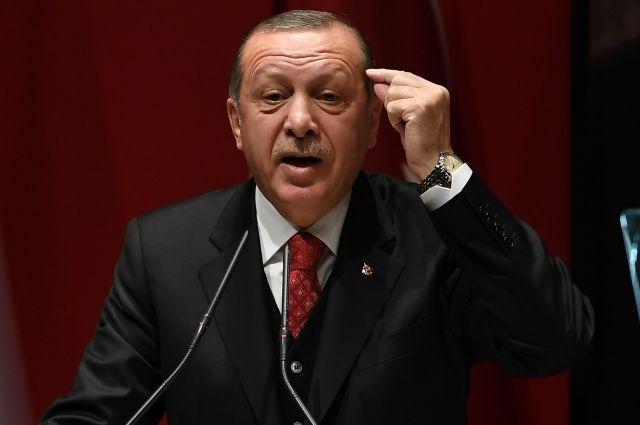 Эрдоган назвал условия своей отставки