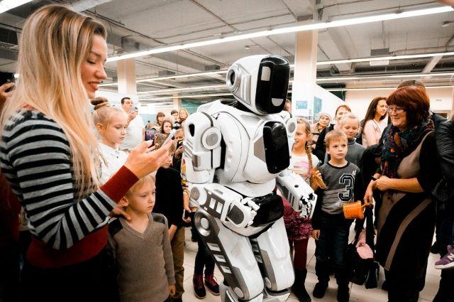 «Корпорация роботов» представит в Иркутске 50 экспонатов.