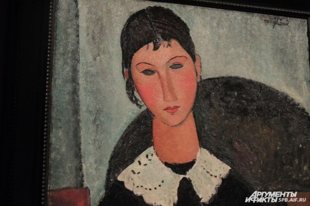 Часть портретов Модильяни рисовал без зрачков - по мнению художника, не все люди настоящие и искренние.