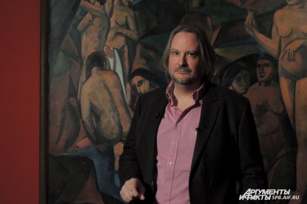Куратор выставки Марк Растеллини изучает Модильяни более 40 лет.