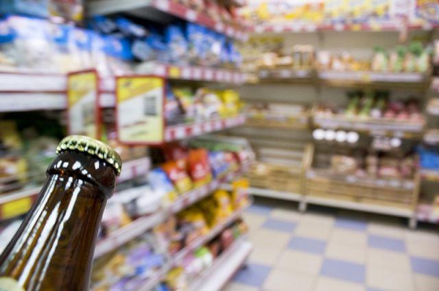 Продажа алкоголя без лицензии запрещена.