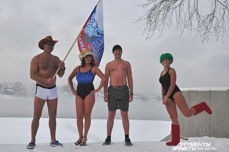 Недавно клуб выступал на соревнованиях по зимнему плаванию в Енисее. Из Красноярска участники клуба привезли 4 медали.