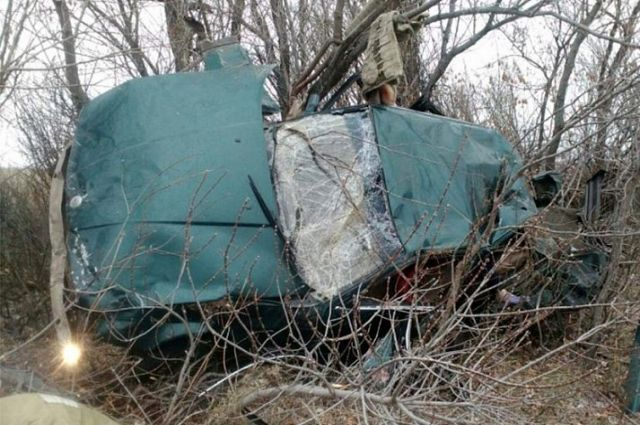 Шофёр ипассажир скончались наместе ДТП