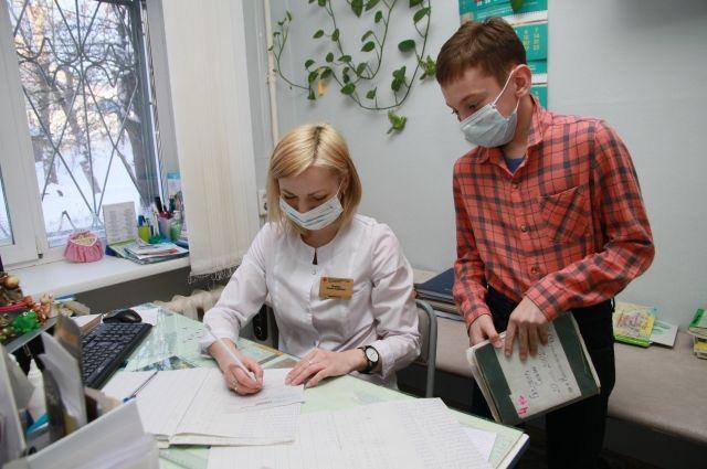 В Оренбуржье дошколята и маленькие школьники стали болеть чаще.
