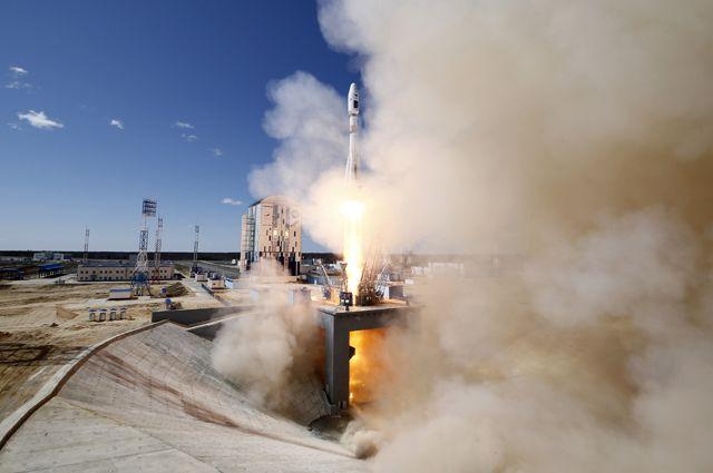 Русская  ракета-носитель «Союз» стартовала скосмодрома Восточный