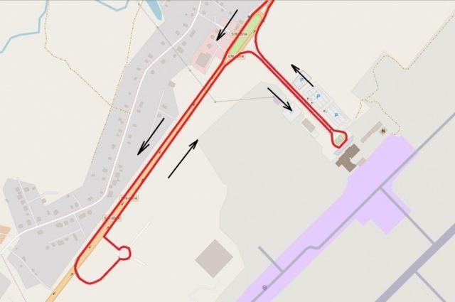 Изменение маршрута произойдёт после открытия нового аэровокзала.