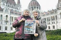 Елена (справа) и её подруга Лариса провели в столице Венгрии 5 дней.