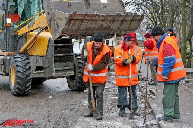 Калининград закупит спецтехнику для уборки города.