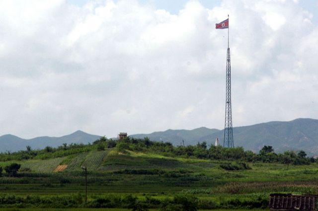 ВМинобороны Японии поведали, куда упала ракета Северной Кореи