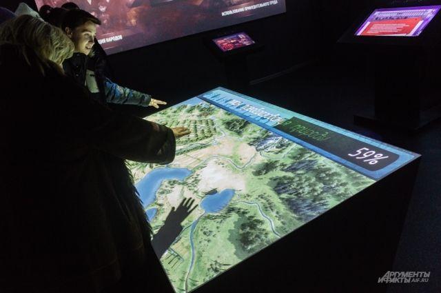 Пространство выставки будет выполнено в формате мультимедийного исторического парка.
