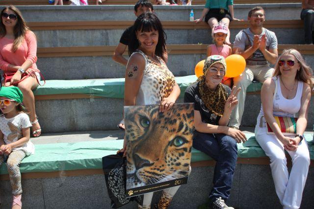 День леопарда в крае тоже стал одним из любимых праздников.